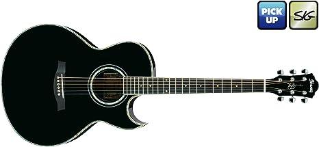 Ibanez Signature JSA10-BK Joe Satriani · Guitarra acústica: Amazon ...