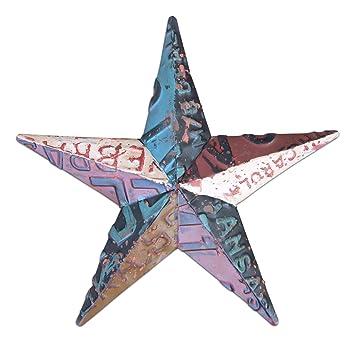 MayRich Company 12u0027u0027 Metal Star Wall Decor