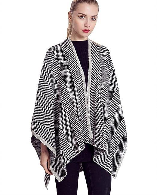 the latest 5a3b4 70f17 Pashmina Schal Damen Loose Elegant Poncho Casual Mode Marken ...