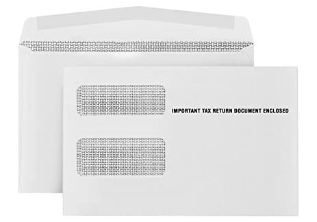 Amazon 500 1099 Misc Tax Envelopes Designed For Printed 1099