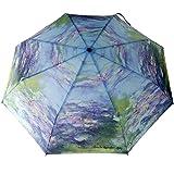 Parapluie Pliant Art et Peinture Claude Monet Fleurs de Nymphéas