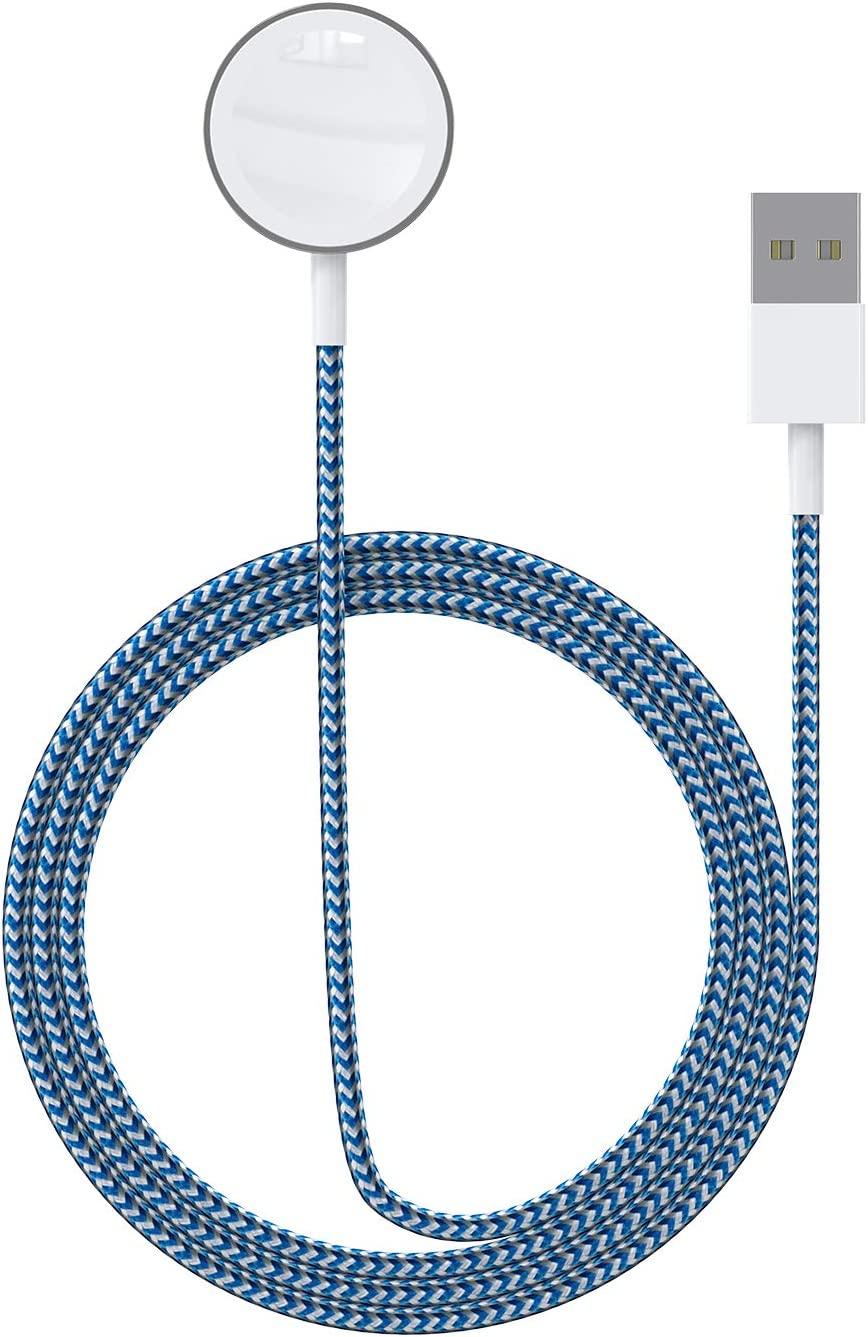 ASIANE Compatible for Apple Watch Charger,Magnetic Wireless Portable Charger,iWatch Nylon Braided Charging Cable Cord Compatible for Apple Watch Series 6/5/4/3/2/1 All 44mm 40mm 42mm 38mm