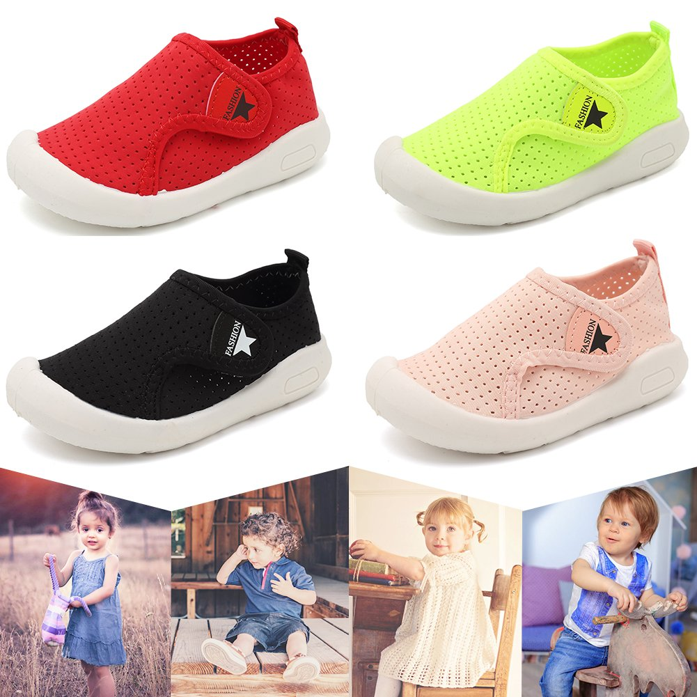 SC1588 D.Black 16 Toddler//Little Kid CIOR Kids Shoes Boys Girls Mesh Shoes Casual Breathable Sneakers Water Shoes for Walking Running Sport Pool Beach