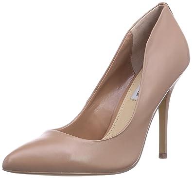 f4a3e555356 Steve Madden Women s GALLERYY Court Shoes Beige Beige (Blush) 5 ...