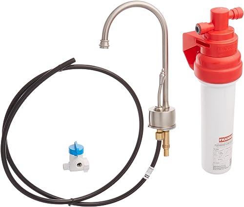 Franke DW6180 Farm House Little Butler Single Handle Under Sink Cold Water Filtration Faucet, Satin Nickel