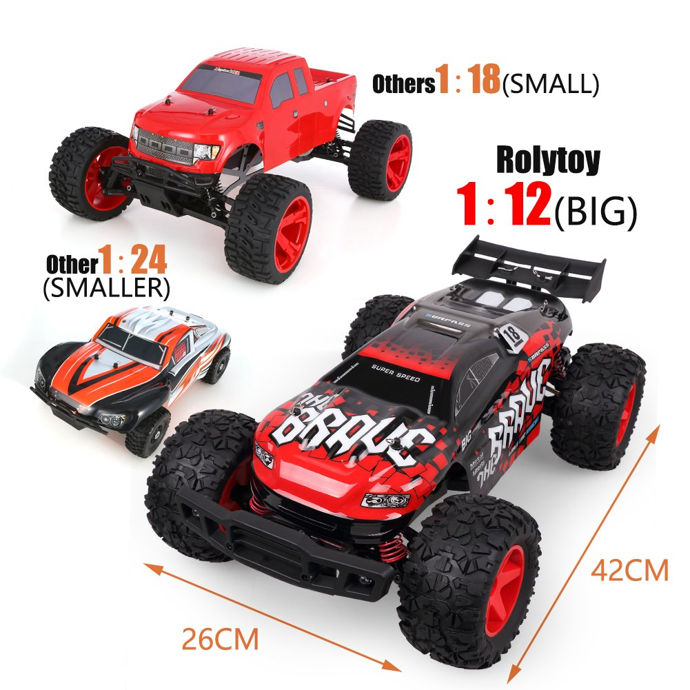 Rolytoy 4WD best rc cars under $200