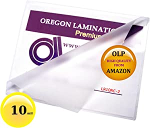 10 mil Letter Laminating Pouches 9 x 11-1/2 Hot Qty 100