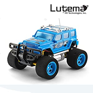 Best Lutema Cosmic Rocket 4CH Remote Control Truck cars for kids