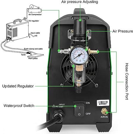 Reboot Cortadora de plasma 50A 230V IGBT CUT50 corte de contacto Cortador de metal compacto para chapas pintadas & oxidadas