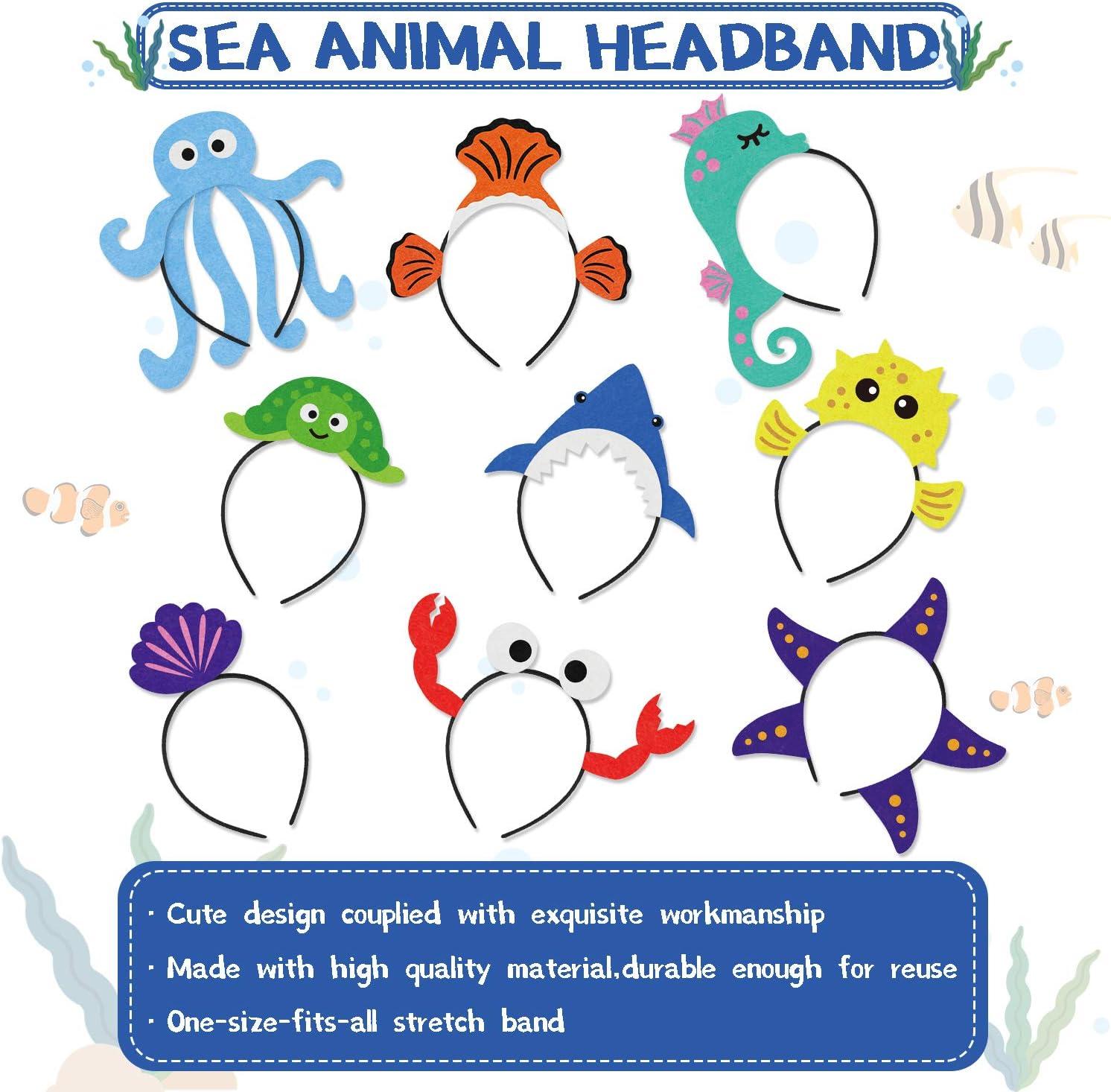 Tropical Fish Hat Adults Sealife Animal Creature Mens Ladies Costume Accessory