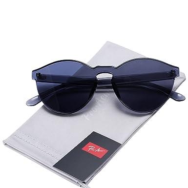 Pro Acme klassische Damen Übergröße Sonnenbrillen (Brown, 66)
