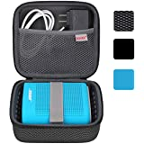 BOVKE for Soundlink Color II/UE ROLL 360 Wireless Speaker Hard EVA Shockproof Carrying Case Storage Travel Case Bag…