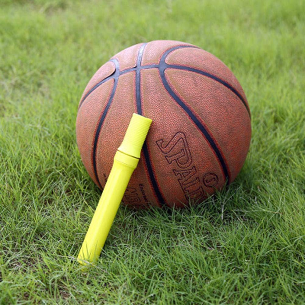 De Baloncesto De Rugby De Voleibol luckything Bomba De Bal/ón con Aguja,Bomba De Aire De F/útbol Manual Bidireccional De Balonmano Y De Otras Bolas Inflables Port/átil,para Pelota De F/útbol