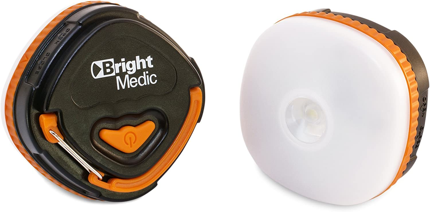 Bright Medic Camp Lantern – Multifunction LED Lantern, Flashlight, Warning Light – for Camping, Backpacking, Vehicle by