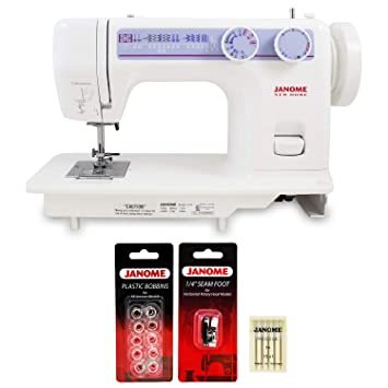 Janome 400T Treadle Sewing Machine With Janome 40040 Inch Seam Foot Amazing Treadle Sewing Machine Needles