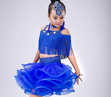 0c07b9766761d SMACO-Concorso di costumi di danza Costume da Ballo Latino per Bambini  Costume da Ballo
