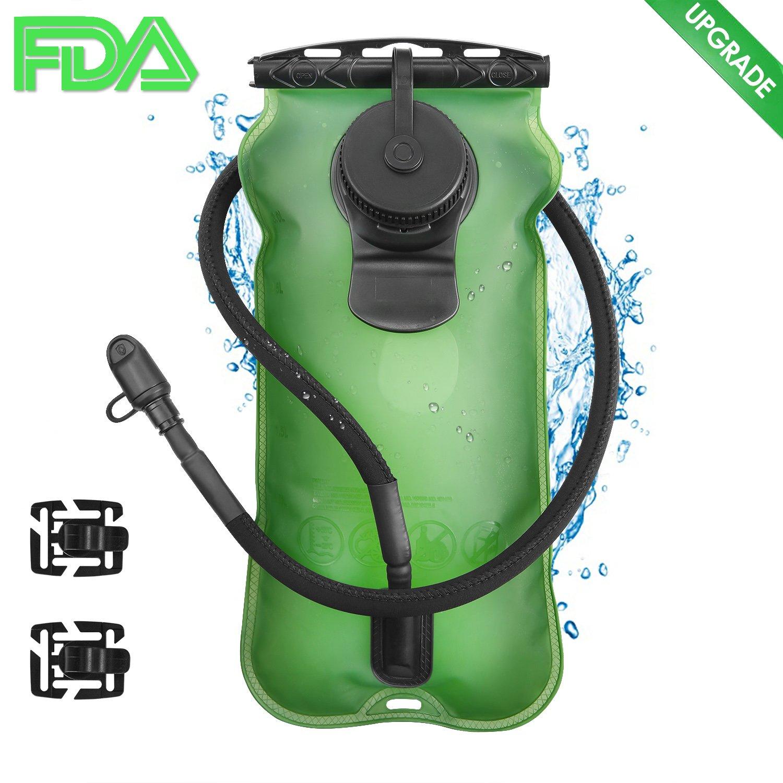 GIM - Bolsa de agua para hidratació n (3 L, sin BPA, aprobado por la FDA), paquete de hidratació n antigoteo paquete de hidratación antigoteo Global I Mall