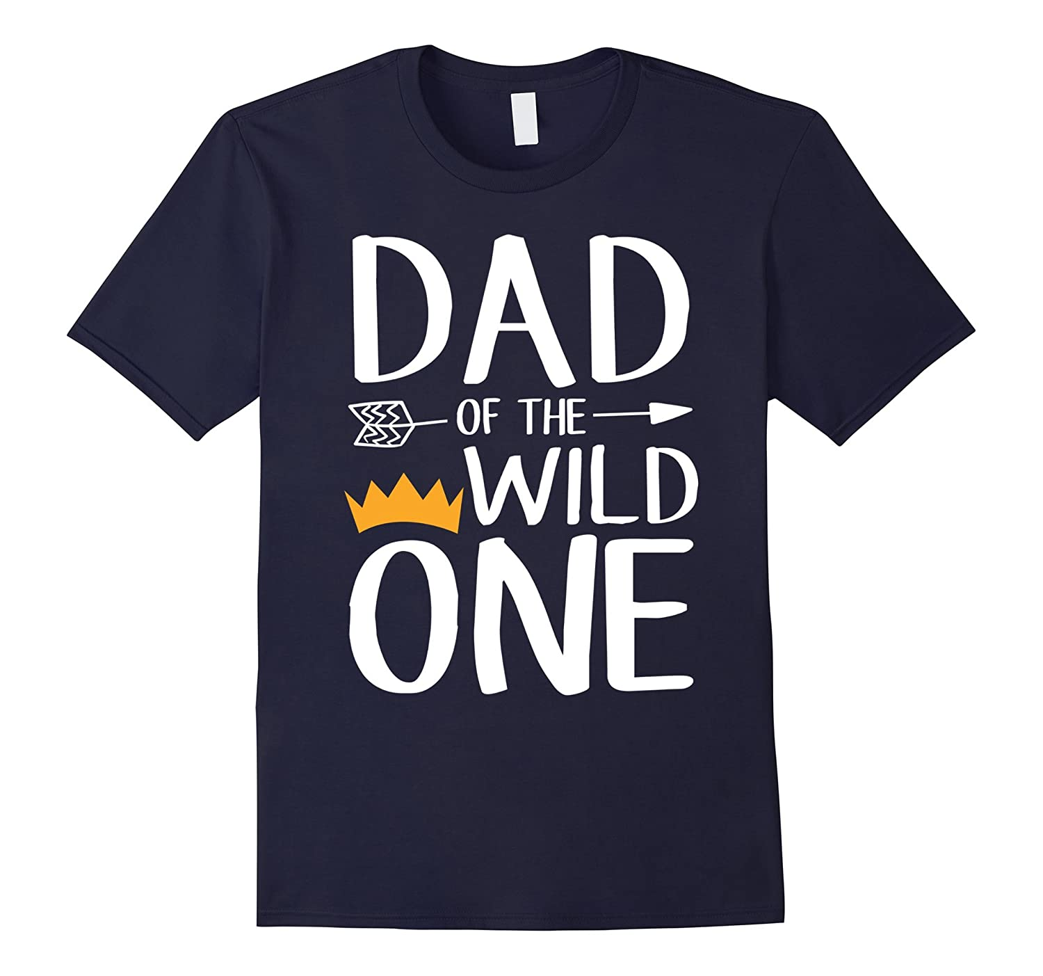 Funny Shirt Awesome Dad Of The Wild One Thing 1st Birthday-T-Shirt