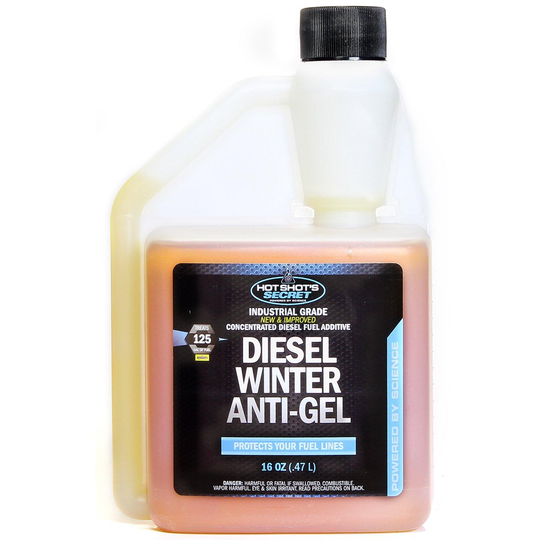 Hot Shot's Secret Diesel Winter Anti-Gel 16 oz Squeeze Bottle Hot Shot' s Secret P403316ZS
