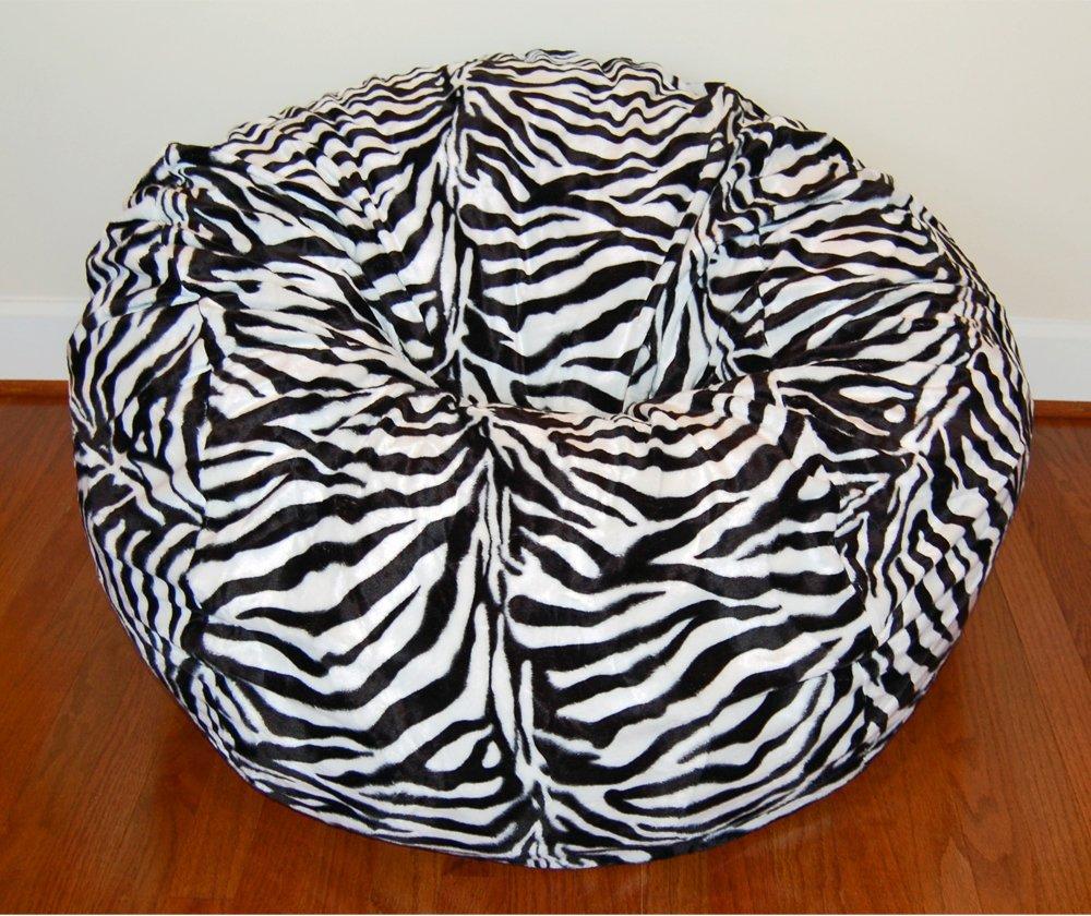 Amazon.com: Ahh. Productos Zebra Animal Print Fur lavable ...