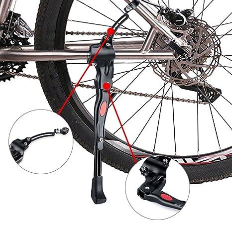 Bicicleta Soporte, soporte plegable para bicicleta lado soporte ...