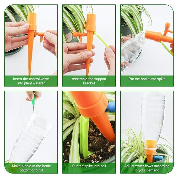Amazon.com: FIREOR - Sistema de riego por goteo para plantas ...