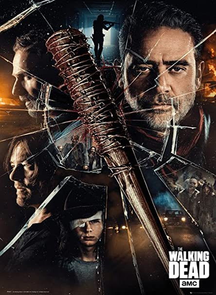 Amazon Com Awdip Official The Walking Dead Smash Maxi Poster 91 5 X