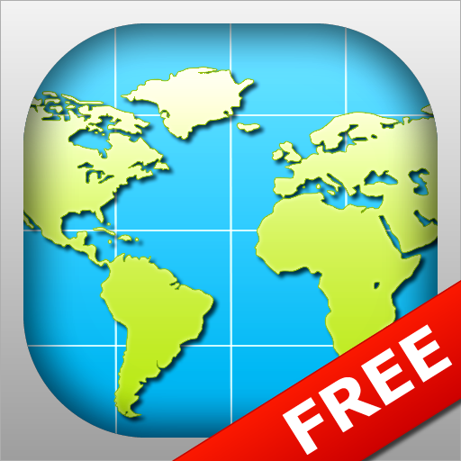 World map free amazon appstore para android gumiabroncs Gallery