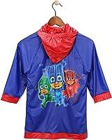 Disney Little Boys' PJ Masks Waterproof Outwear Hooded Rain Slicker - Toddler