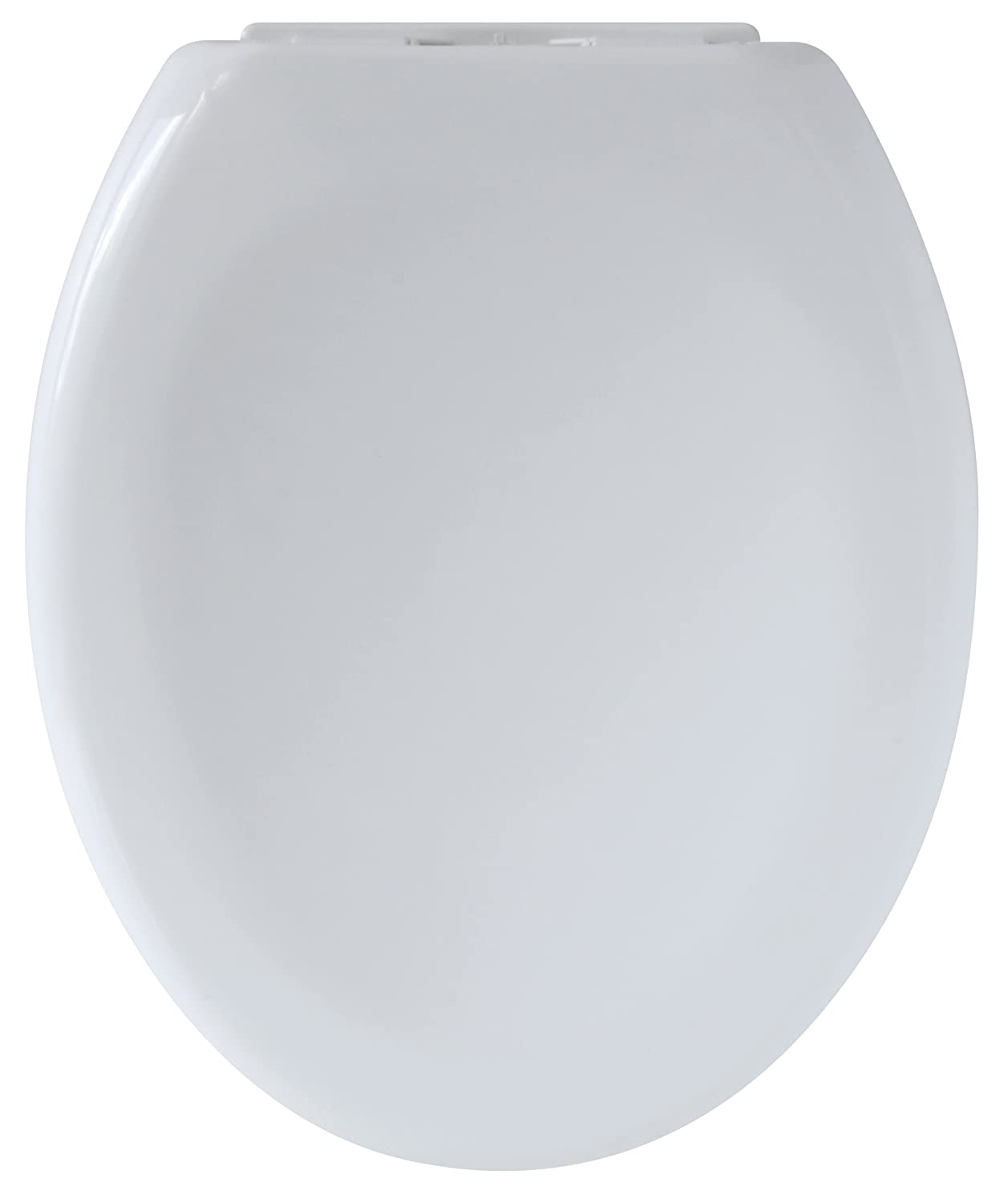 Gelco 708690 Soft Close Toilet Seat - Plastic, White - 45 x 37 x 6 cm