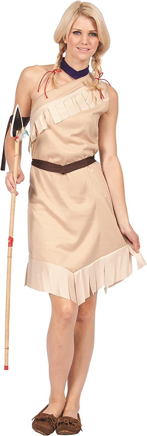 GR RG Costumes 81160 Pocahontas Costume - Size Adult Standard ...