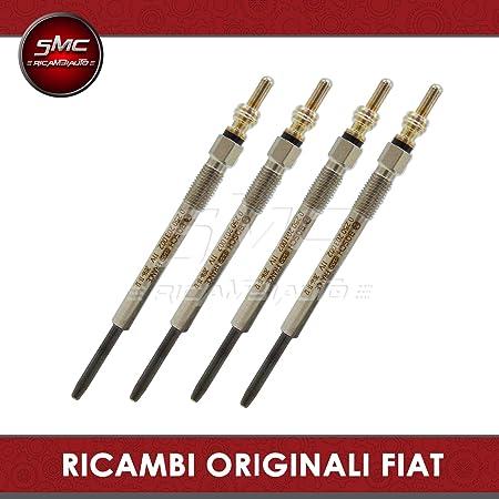 Bosch 0250203002 per FIAT GRANDE PUNTO Candelette FIAT GRANDE PUNTO 199 Kit 4 candelette 199 1.3 D Multijet periodo dal 10-2005 Motore 1248cc 90CV 66kW