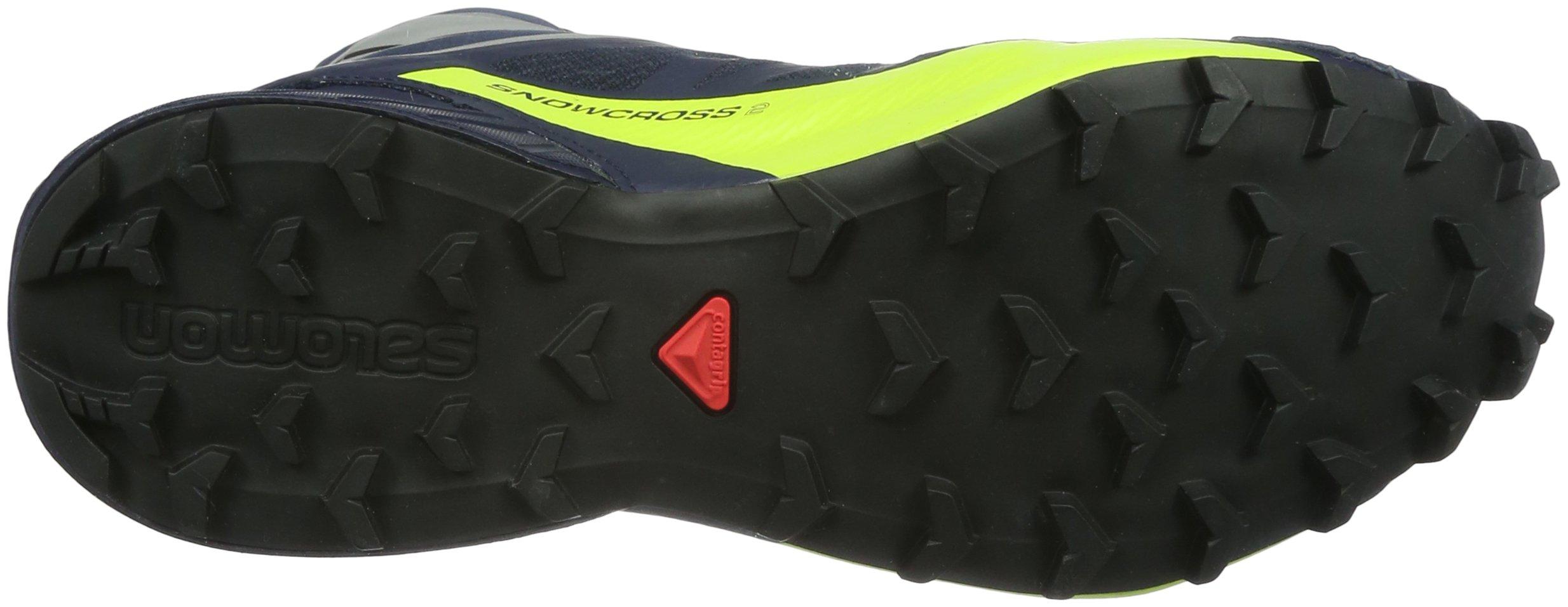 Salomon Snowcross 2 CS Waterproof Trail Running Shoe - Men's-Navy Blazer/Reflective L39451200-8.5 by Salomon (Image #3)