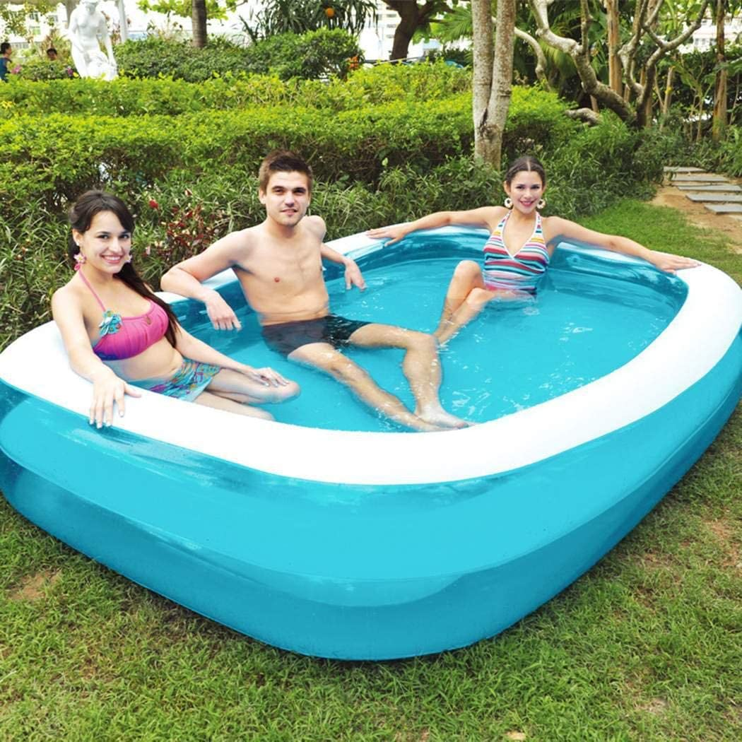 Fanxis Thickened Environmental Protection Inflatable Baby Swimming Pool Kiddie Pools