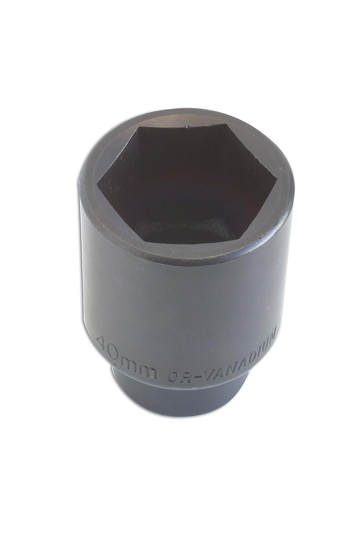 Laser 2631 Deep Socket - Air Impact 40mm 1/2'd Tool Connection (EU)