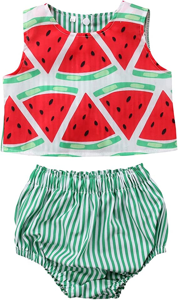 Carters Baby Girl Tank Bodysuit Tutu Leggings Size 3 6 9 12 18 months Watermelon