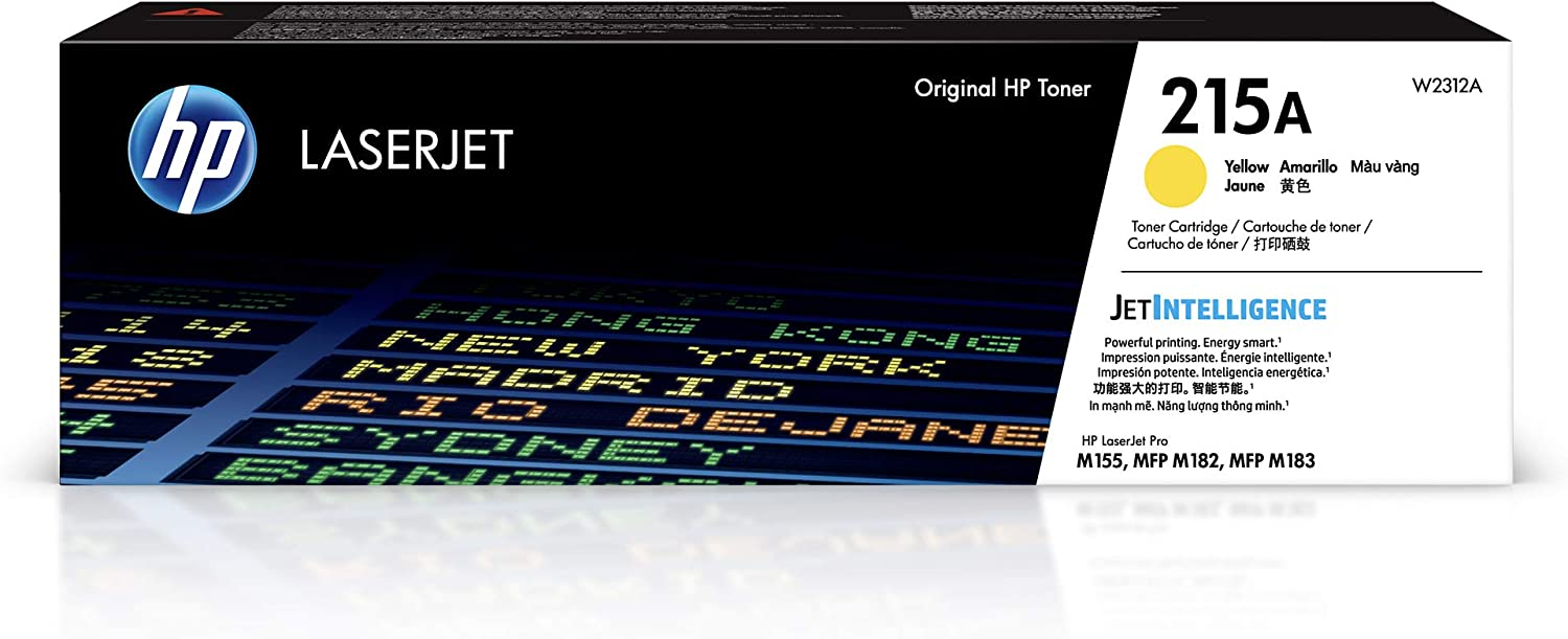 HP 215A   Toner Cartridge   Yellow   W2312A, One Size