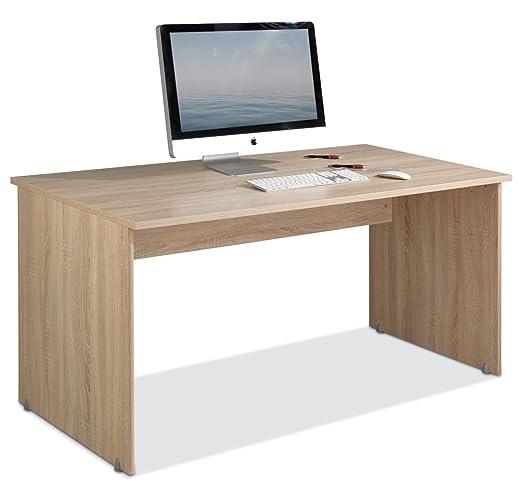 Escritorio Ordenador Mesa de trabajo Mesa tiffi 3 | roble: Amazon ...