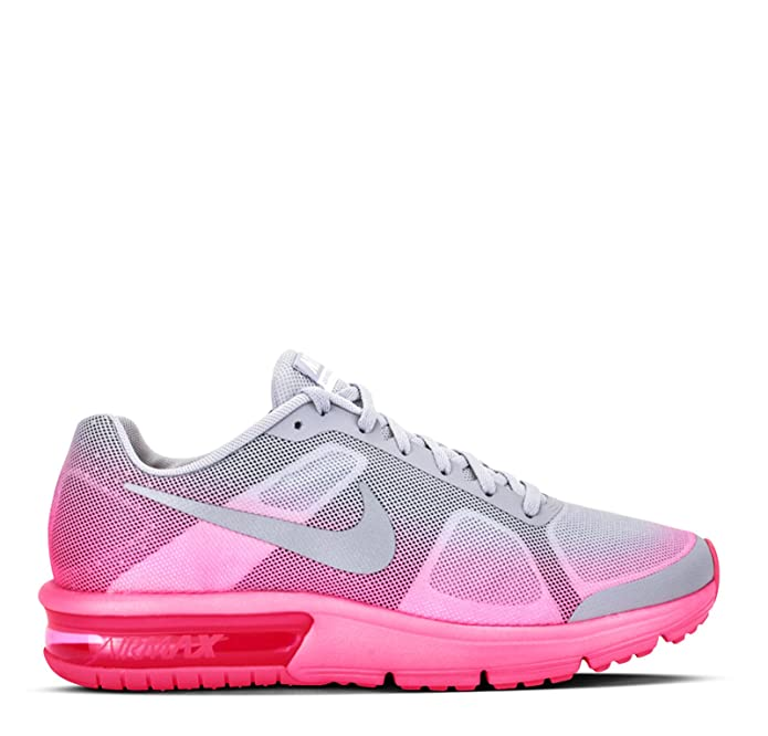 on sale 99985 a35ea Nike Air Max Sequent (GS) Running Shoes for Girls Multicolour Size  3 UK   Amazon.co.uk  Shoes   Bags