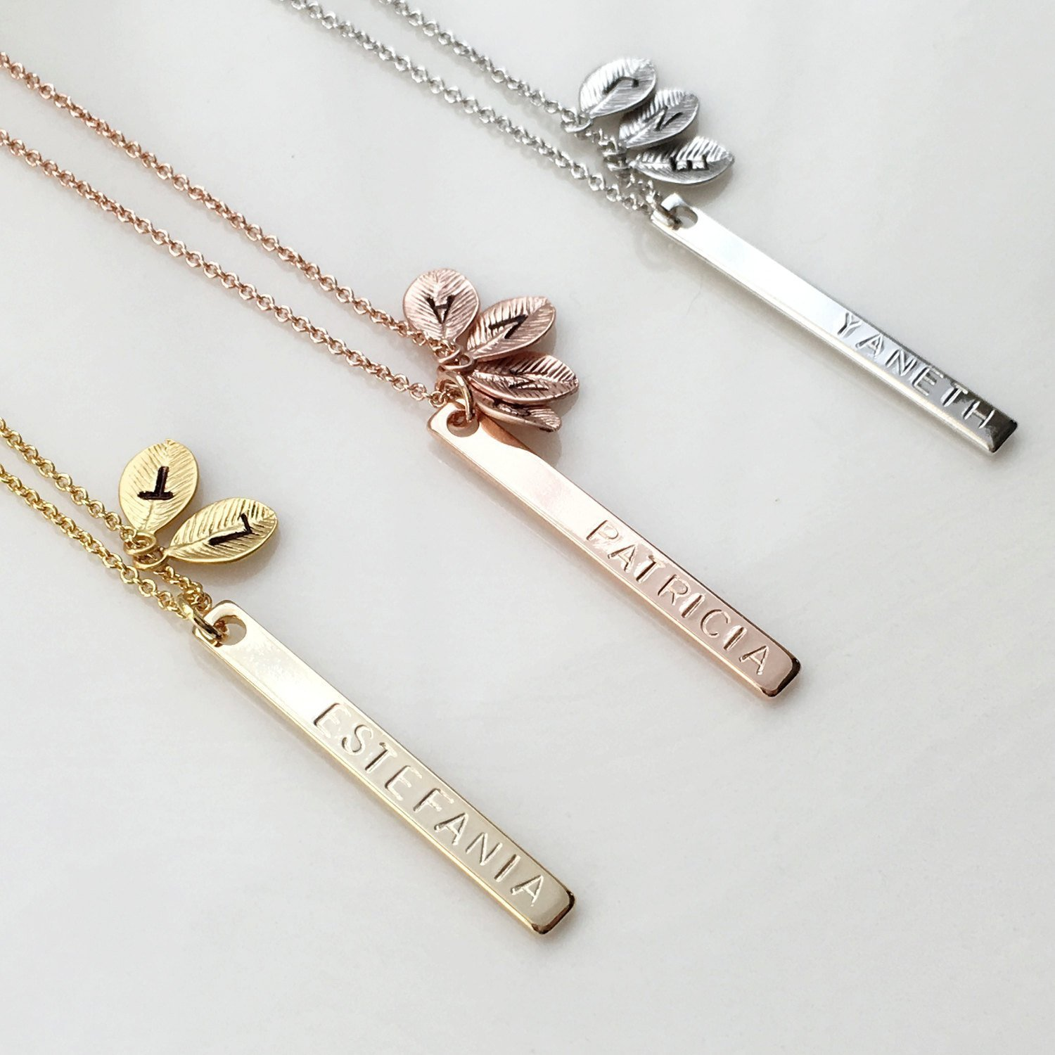 notonthehighstreet product lily necklace com lilybelledesigns family by personalised original belle