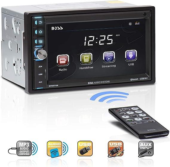 Estereo De Pantalla Para Coche Carro LCD Radio Receptor Bluetooth Control Remoto
