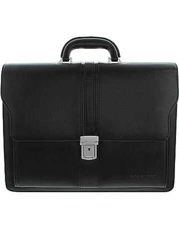 5c8b1c979b934 Bag Street Aktentasche Herren schwarz Kunstleder-Aktentasche Aktenkoffer  Bürotasche