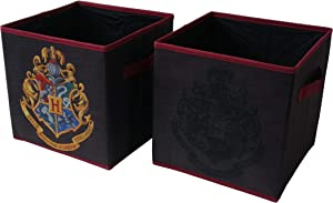 Harry Potter Collapsible Storage Cubes 2 Pack, Red