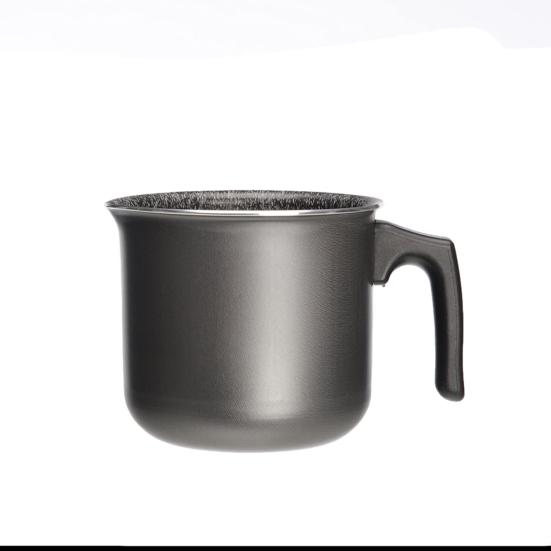 10/cm Alluflon Tradizione Italia cazo Negro aluminio