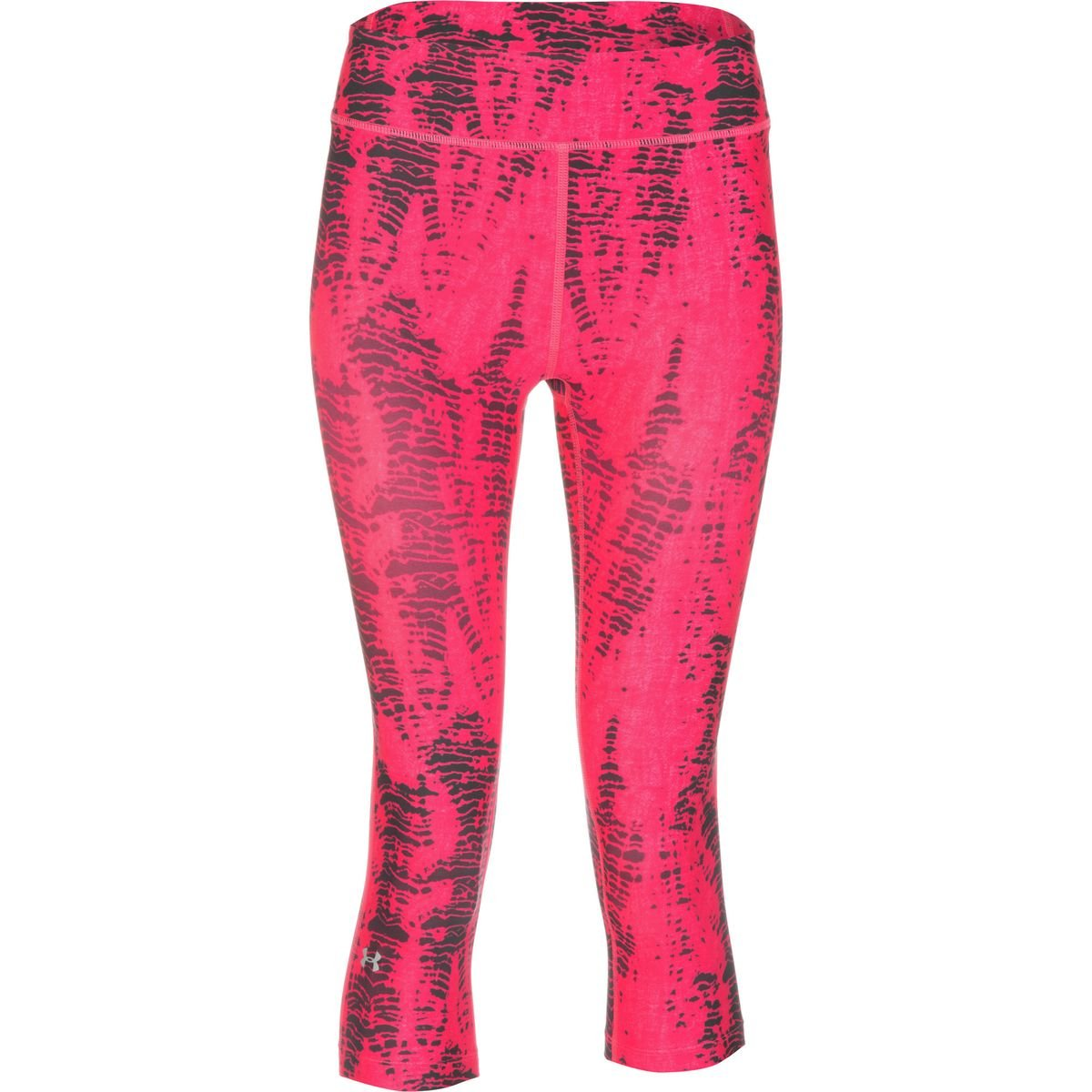 Womens Under Armour Heatgear Alpha Compression Printed Capri