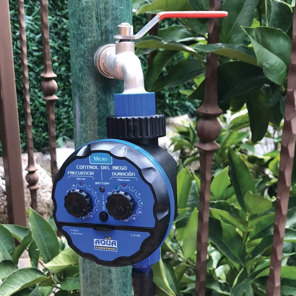Aqua Control Riego por Goteo para Jardín-Incluye Goteros, Tubería ...