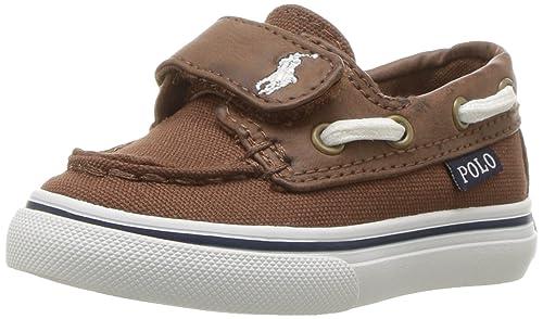 f6b2a21aa5 Polo Ralph Lauren Kids' Batten Ez Boat Shoe