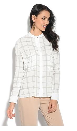 Orfeo Camisa YLDIZ Blanco/Plateado Mujer Colección Primavera/Verano