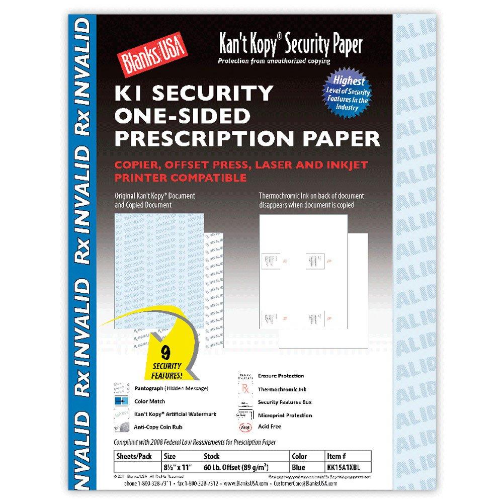 Kant Kopy Security Prescription Paper 500 Pack