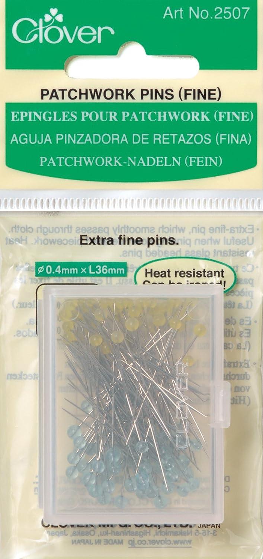 Clover Q2507 Patchwork Pins-Fine 100 Per Pack